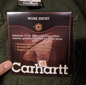 NWT Carhartt work shorts